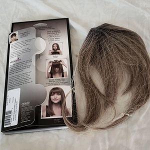 hairdo by Hairuwear clip in bangs